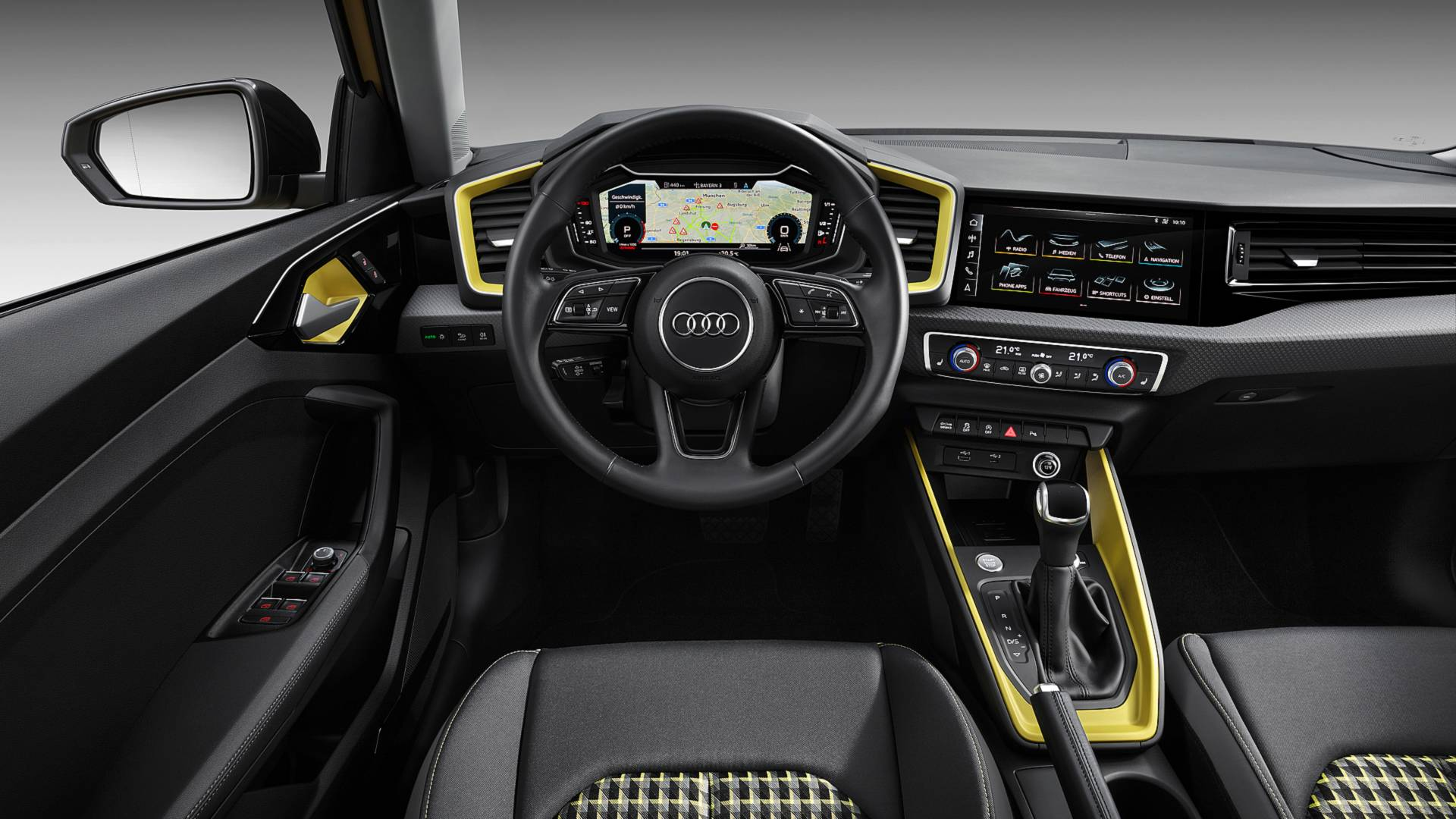 2019 audi a1 sportback s line interior. Black Bedroom Furniture Sets. Home Design Ideas