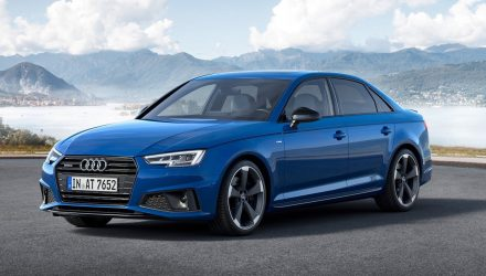 2019 Audi A4 facelift debuts, adds S line competition trim