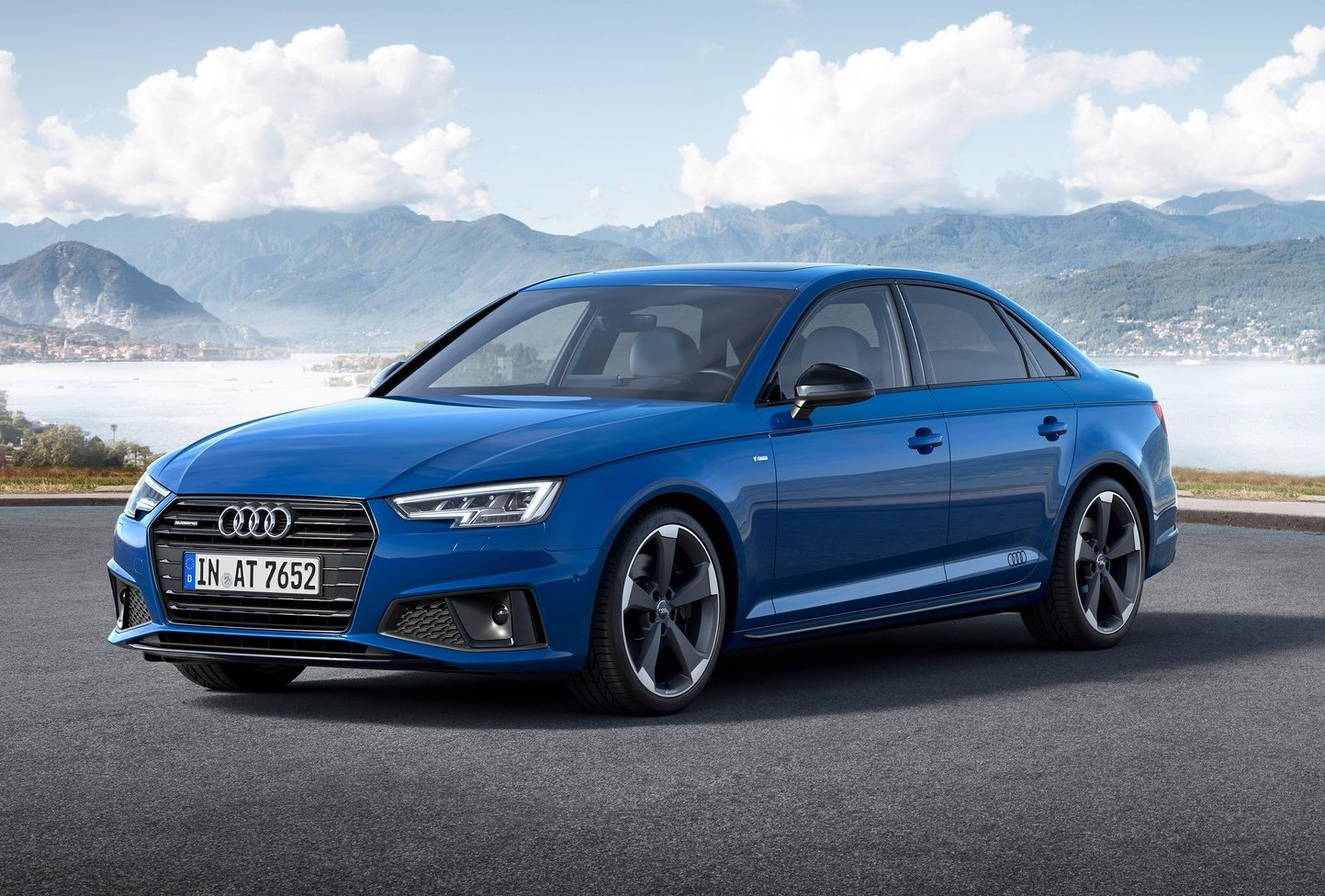 2019 audi a4 facelift debuts adds s line competition trim. Black Bedroom Furniture Sets. Home Design Ideas