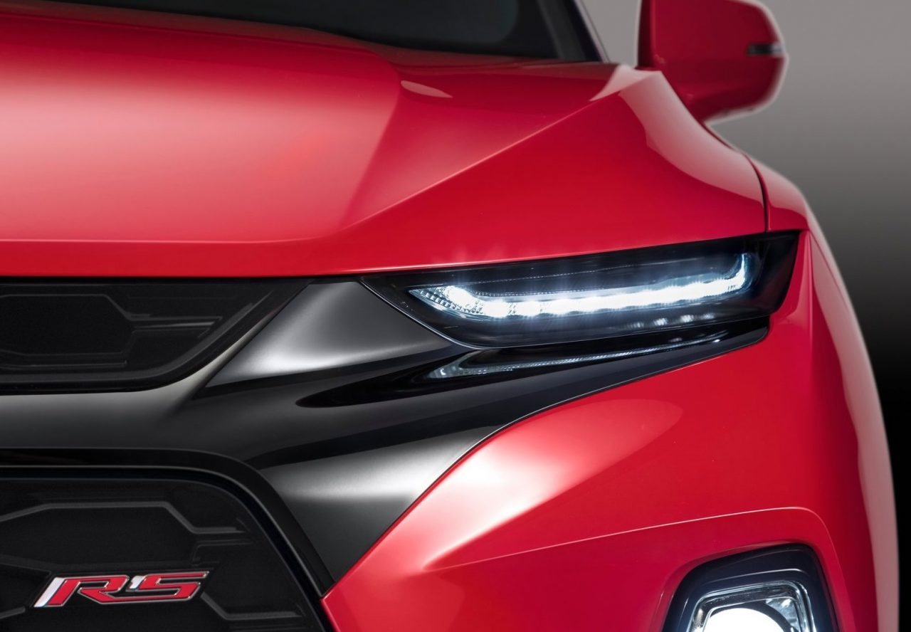 2019 Chevrolet Blazer revealed, gets sporty RS variant ...