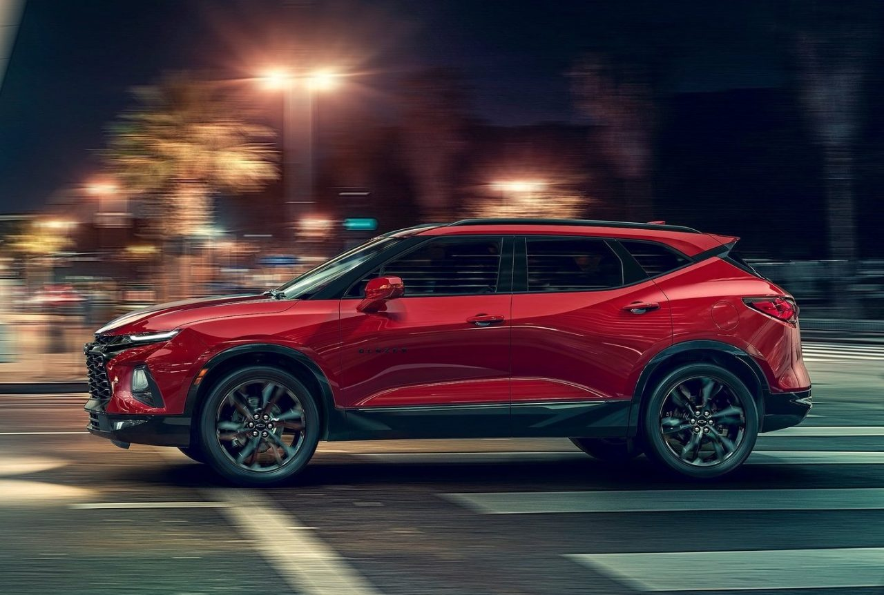 2019 Chevrolet Blazer Revealed Gets Sporty Rs Variant