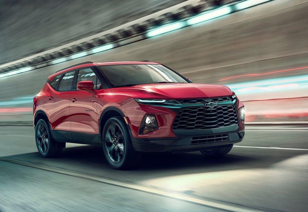 2019 Chevrolet Blazer revealed, gets sporty RS variant ...