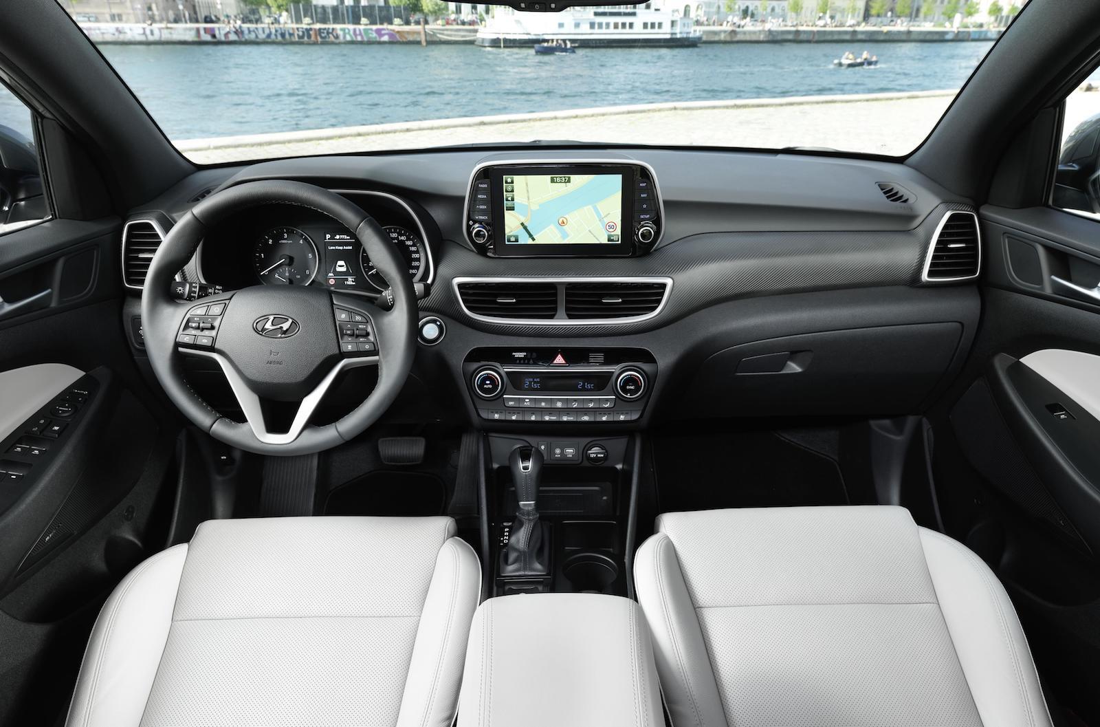 Elegant 2019 Hyundai Tucson Interior Pictures