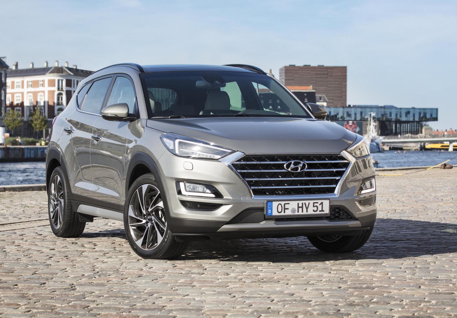 2019 hyundai tucson revealed with new 48v mild hybrid diesel performancedrive