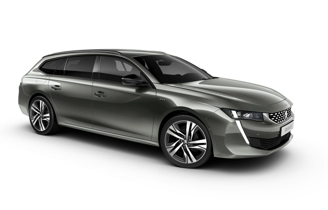 2019 peugeot 508 sw wagon revealed performancedrive. Black Bedroom Furniture Sets. Home Design Ideas
