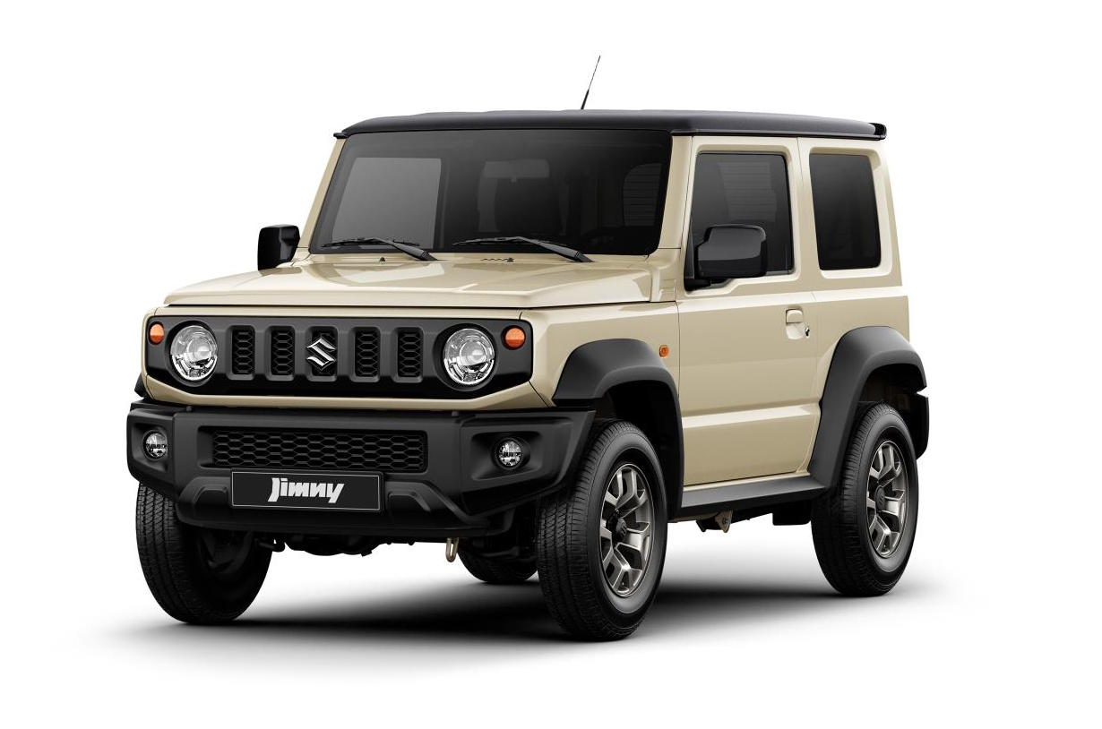 2019 suzuki jimny revealed first official images update. Black Bedroom Furniture Sets. Home Design Ideas