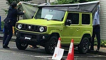 2019 Suzuki Jimny spotted, reveals new-look design