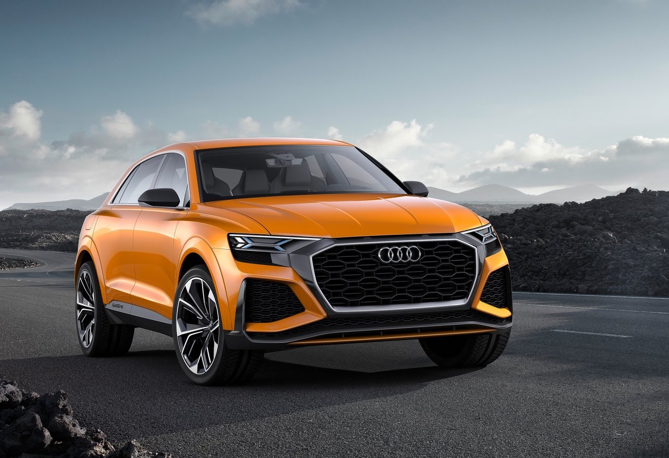 audi rs q8 on the way to adopt porsche 39 s 500kw e hybrid. Black Bedroom Furniture Sets. Home Design Ideas