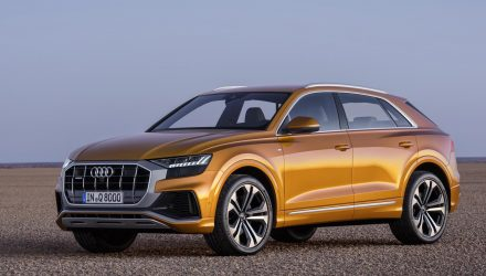 Audi Q8 officially revealed, debuts with mild hybrid 3.0 TDI