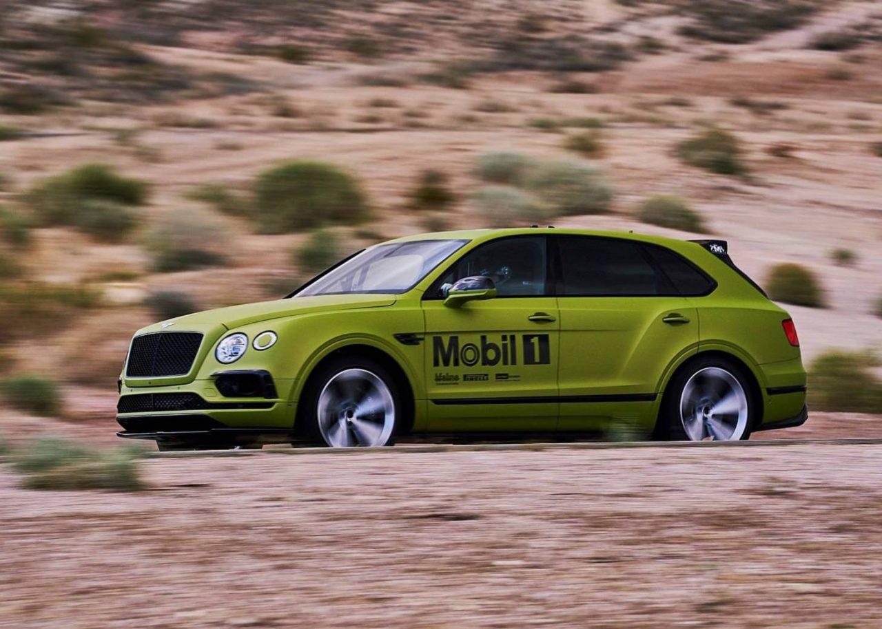 bentley hunting production suv record at pikes peak with bentayga w12 performancedrive. Black Bedroom Furniture Sets. Home Design Ideas