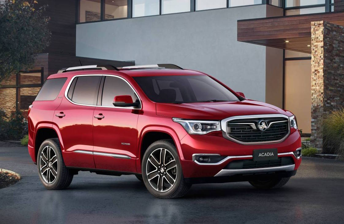 Holden Acadia Testing Commences In Australia On Sale Late
