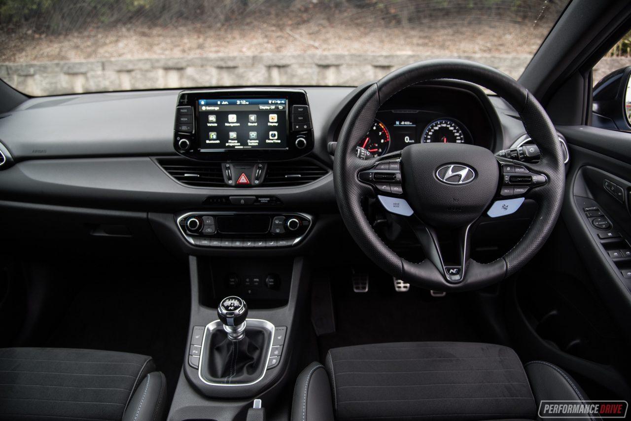 2018 Hyundai i30 N-interior