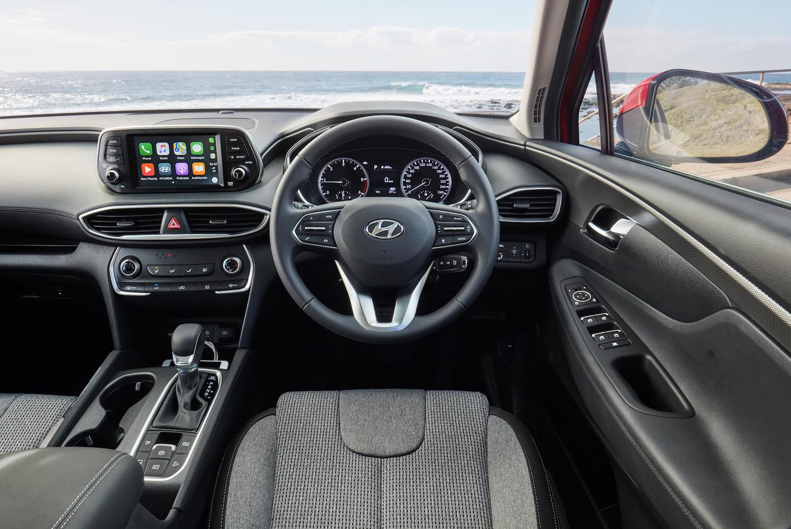 2019 hyundai santa fe now on sale in australia performancedrive. Black Bedroom Furniture Sets. Home Design Ideas