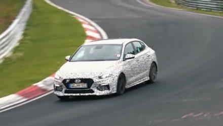 Video: Hyundai i30 N Fastback spotted at Nurburgring, quieter than N hatch?