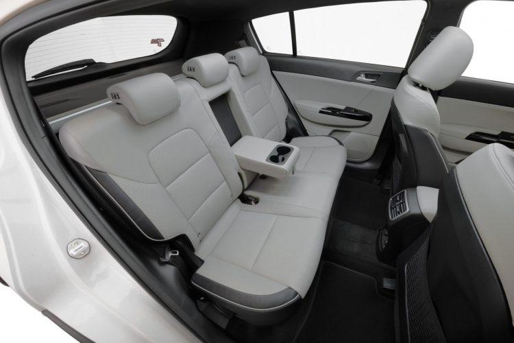 2019 Kia Sportage Gt Line Rear Seats