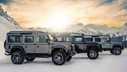 Ares Design recreates V8 Land Rover Defender