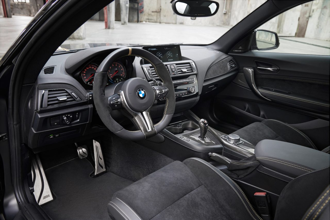 bmw m performance parts concept goes nuts with carbon. Black Bedroom Furniture Sets. Home Design Ideas