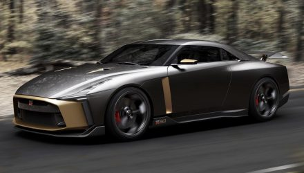 Italdesign Nissan GT-R50 front