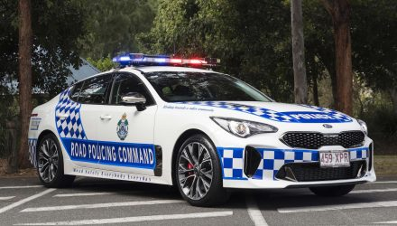 Kia Stinger police cars confirmed for Queensland force