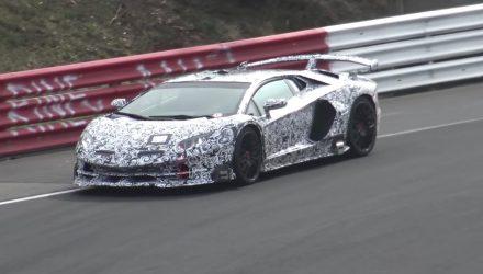 Lamborghini Aventador SVJ to set new Nurburgring record