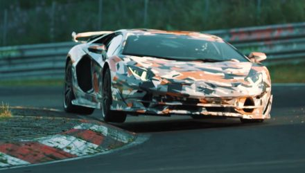 "Lamborghini Aventador SVJ to offer ""best handling"" & power-to-weight  (videos)"