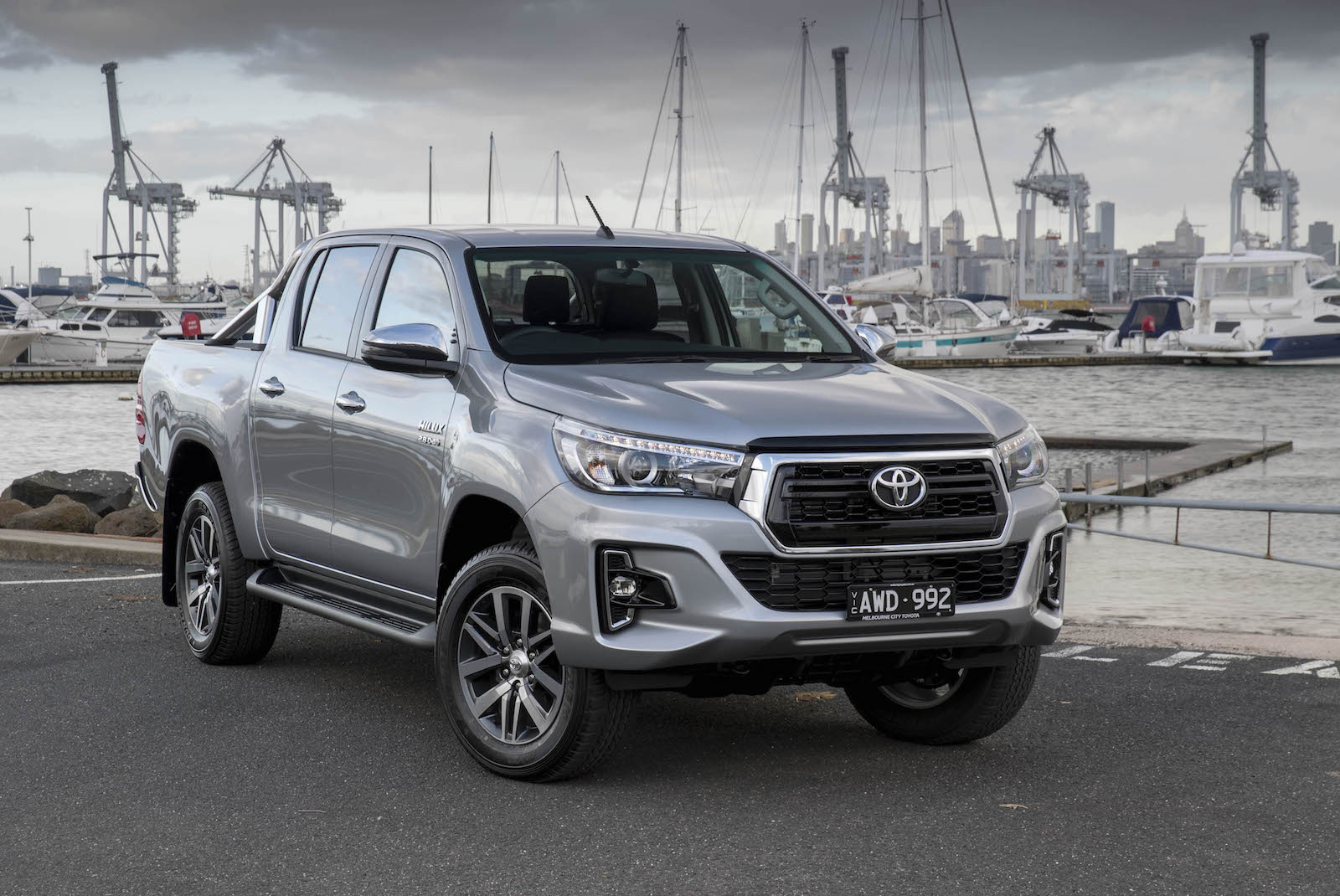2019 toyota hilux officially announced with updated look performancedrive. Black Bedroom Furniture Sets. Home Design Ideas
