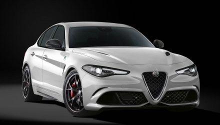 Alfa Romeo Giulia Quadrifoglio Carbonio Edition-front
