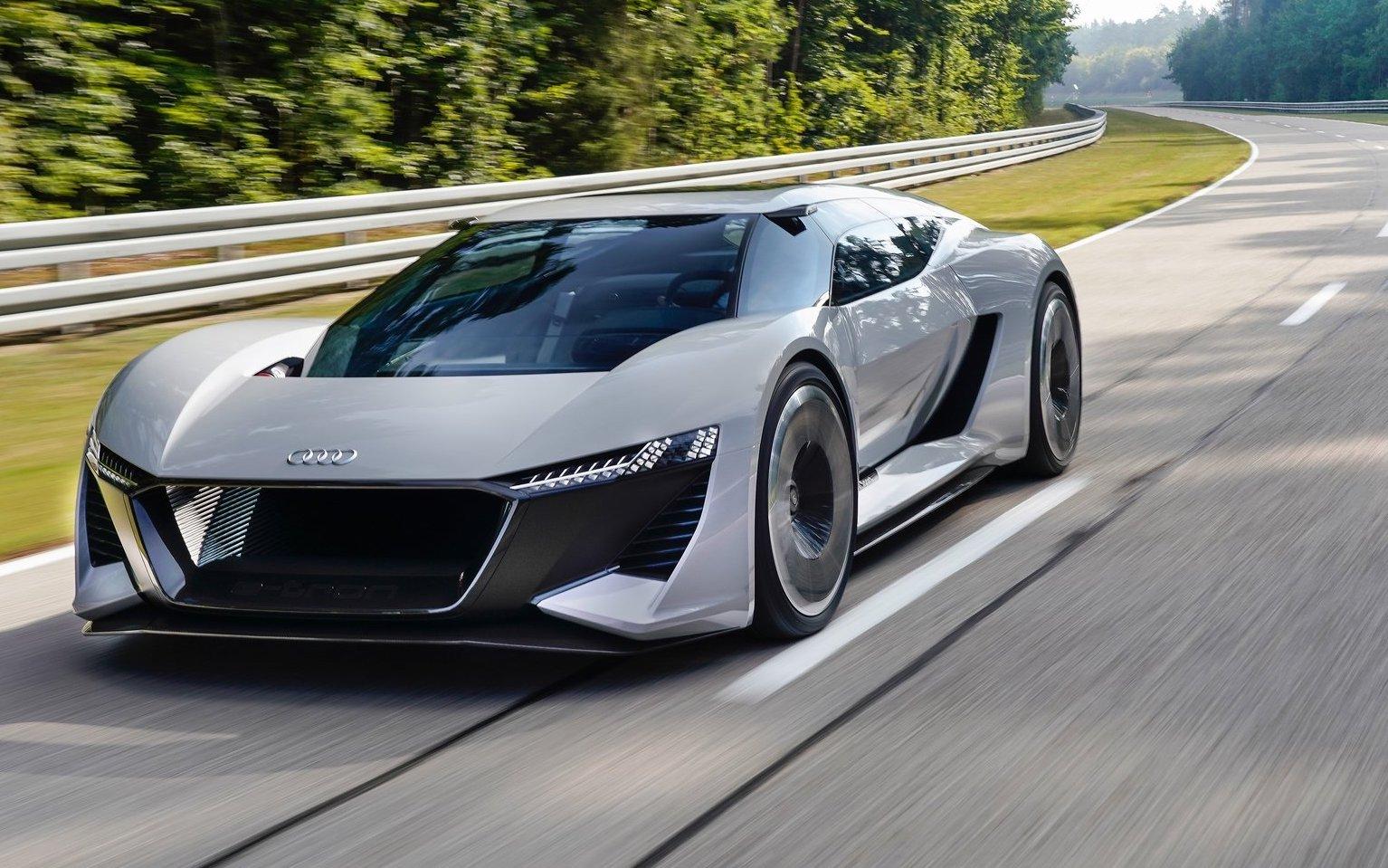 Heritage Volkswagen Subaru >> Audi unveils futuristic PB18 e-tron electric concept | PerformanceDrive