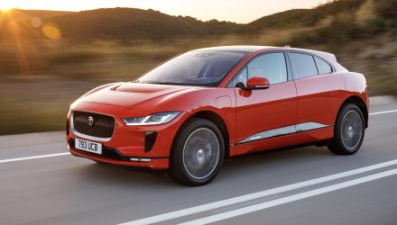 Jaguar I-PACE covered by 5-year warranty in Australia