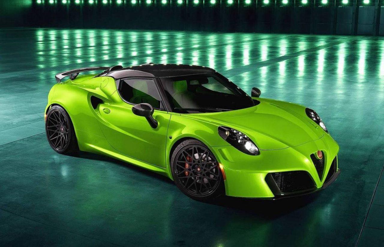 Pogea Racing Creates Crazy Alfa Romeo 4C 'Centurion 007