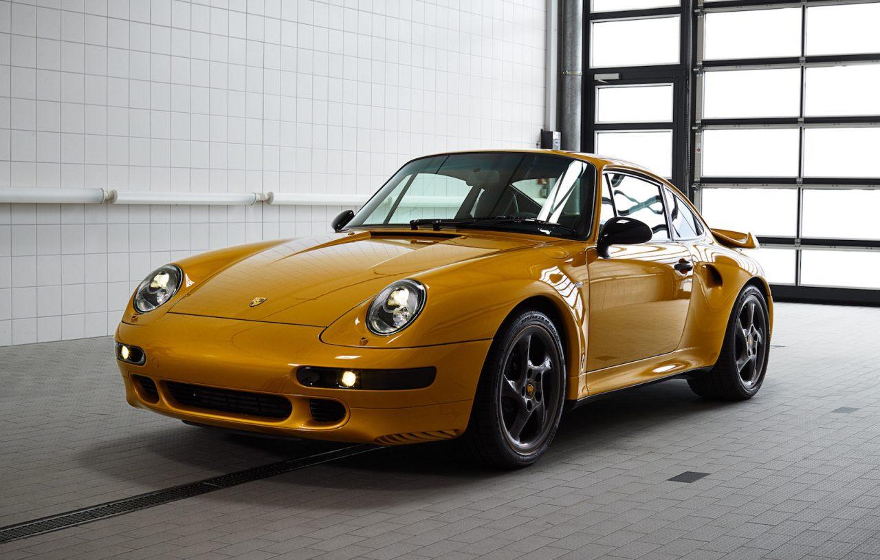 porsche classic completes  u0026 39 project gold u0026 39  993 911 turbo