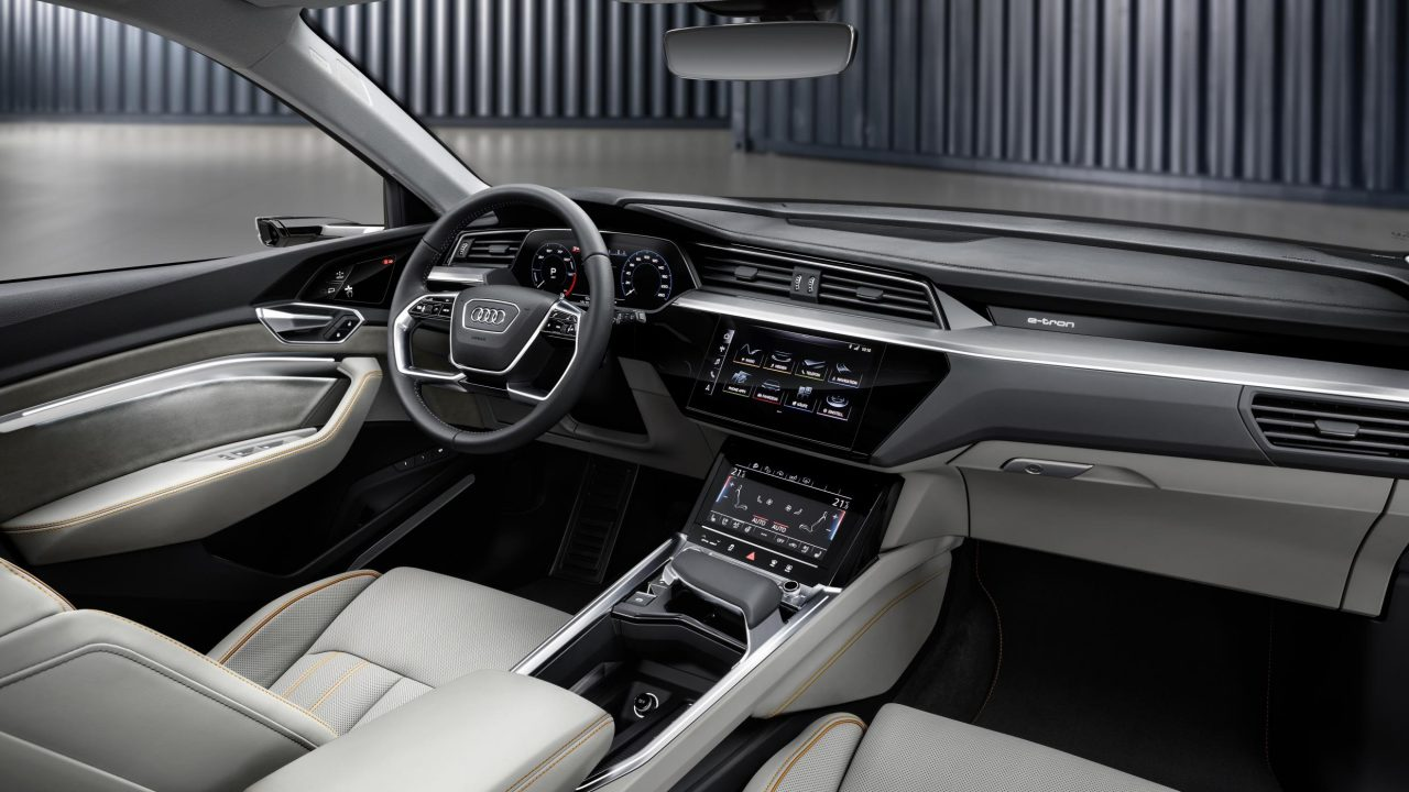 audi e tron fully electric suv unveiled performancedrive. Black Bedroom Furniture Sets. Home Design Ideas
