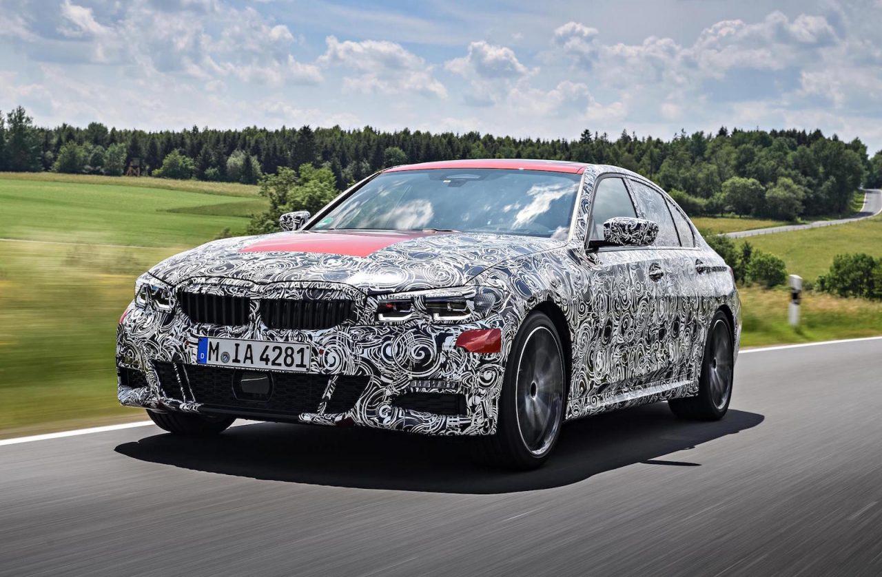 2019 BMW 'G20' 3 Series In Final Development Stage