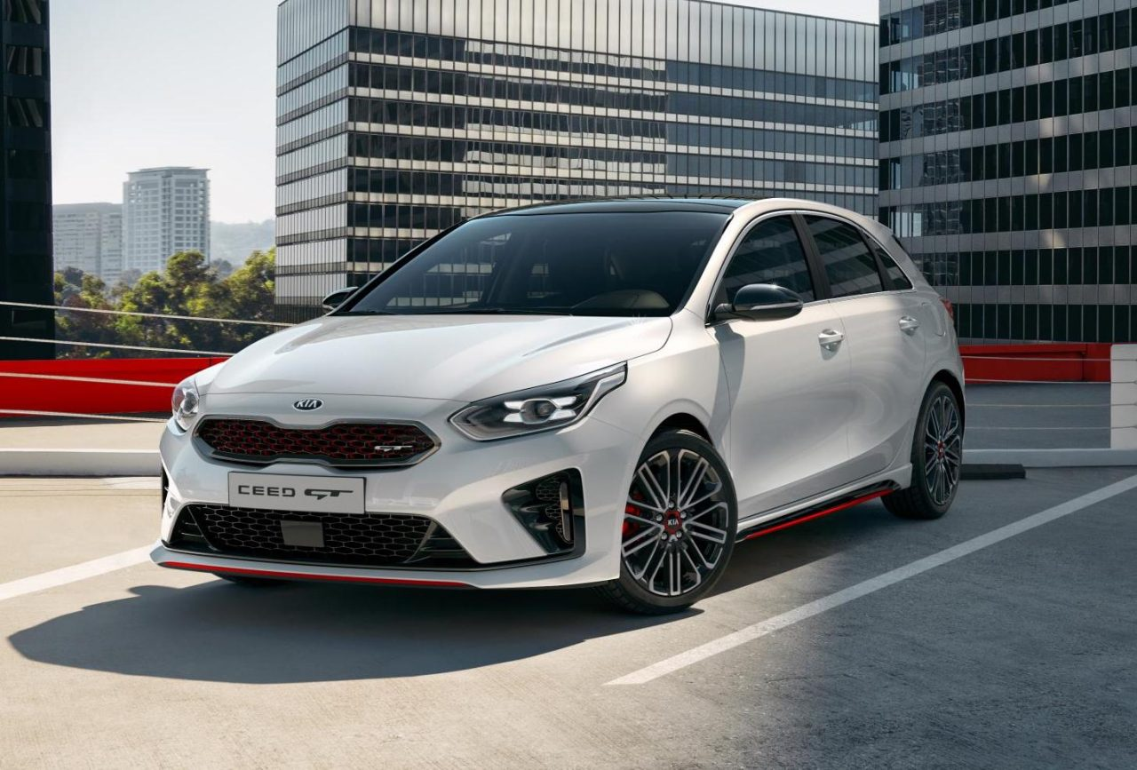2019 kia ceed gt revealed looks very hot hatch performancedrive. Black Bedroom Furniture Sets. Home Design Ideas