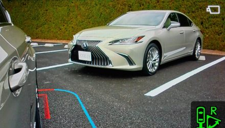 2019 Lexus ES Digital Outer Mirrors-view