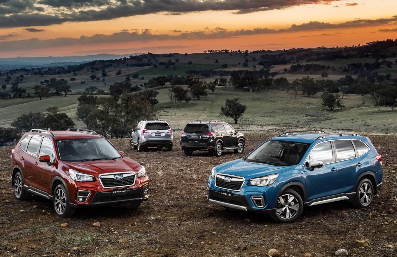 Subaru Forester Australian Range