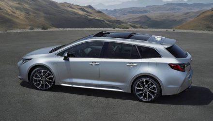 2019 Toyota Corolla Touring Sports wagon revealed