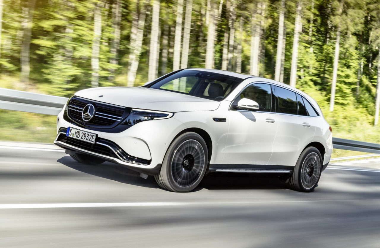 Mercedes Benz Eqc Unveiled New Electric Mid Size Suv